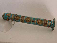 Etui pour encens ENC05 Turquoise Bracelet, Belt, Bracelets, Accessories, Jewelry, Incense, Bijoux, Belts, Waist Belts
