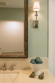 "Benjamin Moore ""Silver Marlin"" this is the color we just put on our master bath. Very Nice :)"