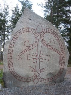 rune stone at jarlabanke's bridge jarlabanki had these stones raised in memory of himself while alive, and made this bridge for his spirit, and (he) alone owned all of tábyr. may god help his spirit.