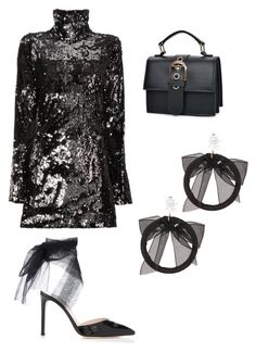 """Untitled #164"" by denisapurple on Polyvore featuring Halpern and Fallon"