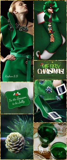 '' Christmas~ Green '' by Reyhan S.D.