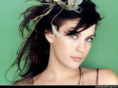 Liv Tyler. LOVED her as Arwen from Lord of the Rings. The fact that she can still speak elvish is awesome!