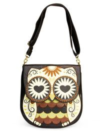 Loungefly - Owl Hearteyes Crossbody Bag