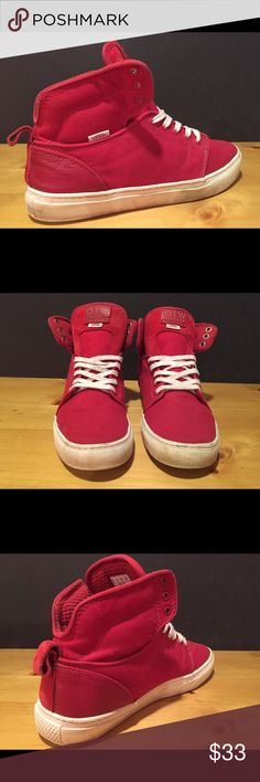 Vans OTW Collection Shoes - Men Size 9 - Red Vans OTW Collection Shoes - Men Size 9 - Red - Pre owned, good condition- See pictures Vans Shoes Sneakers