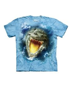 c00248506 Blue Gator Splash Tee - Toddler & Boys #zulily #zulilyfinds Classic T  Shirts