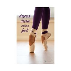 Dance Quote ❤ liked on Polyvore