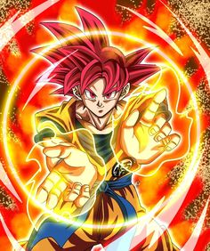 How Vegeta become a Super Saiyan God - A lot of Dragon Ball fans have been wondering how Vegeta achieved Super Saiyan God From. Goku Ssjg, Dragon Ball Z, Dragonball Anime, Ball Drawing, Animes Wallpapers, Zombies, Vampires, Neon, Anime Girls
