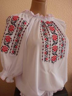 Женская белая вышиванка на шифоне Embroidery Patterns, Hand Embroidery, Palestinian Embroidery, Beaded Cross Stitch, Baby Vest, Embroidered Clothes, Cross Stitch Designs, Dress Patterns, Boho Shorts
