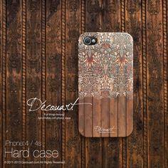 Floral iPhone 5 case iPhone 4 case case for iPhone 5 by Decouart, $23.99