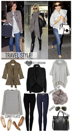 Comfortable traveling outfit- airport chic - jet set