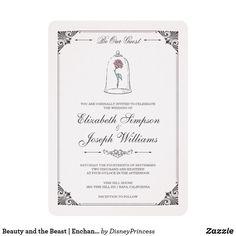 Beauty and the Beast | Enchanted Rose Wedding - custom diy disney wedding cyo #DisneyWeddingIdeas