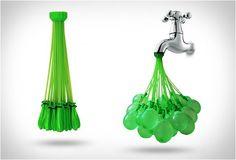 Bataille d'eau en vue 100 ballons 60 secondes Taux de productivité : maximal !