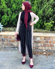 Dressy pants with hijab – Just Trendy Girls Dressy pants with hijab – Just Trendy Girls Hijab Fashion Summer, Modern Hijab Fashion, Street Hijab Fashion, Muslim Fashion, Hijab Casual, Hijab Chic, Ootd Hijab, Abaya Mode, Trendy Outfits