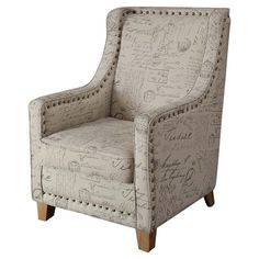 I pinned this Edmond Arm Chair from the Armen Living event at Joss and Main!