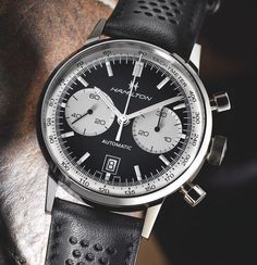 "Hamilton digs into their sixties-chronograph archives and releases the Intra-Matic 68, potentially one of the more popular vintage re-releases this year. Article about this ""reverse panda dial"" chrono is waiting for you on our site..."