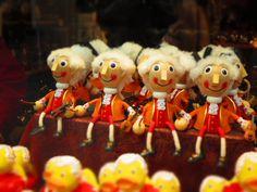 Mozart marionettes in Salzburg