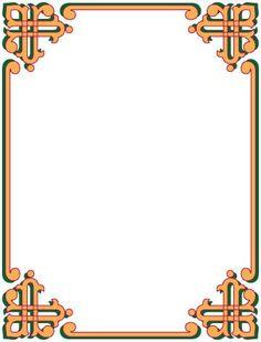 Undangan Pernikahan: Bingkai undangan dan clipart 17 Boarder Designs, Frame Border Design, Page Borders Design, Wedding Borders, Microsoft Word 2010, Vision Art, Background Images For Editing, Background Powerpoint, Computer Paper