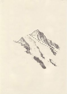 iceblack:  Kasper Pincis. really simple but beautiful idea for 'path' theme, taking inspiration from old maps? and combined with beautiful pencil drawing.