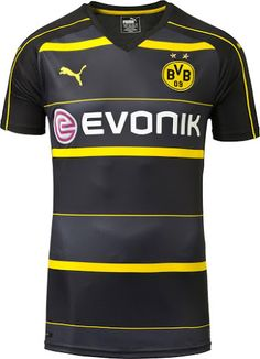 8a6c7df7c78 Borussia Dortmund Away Jersey The new Borussia Dortmund away jersey. Add it  to your steadily growing collection of BVB gear (true fans can never have
