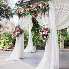 Www.littlehillfloraldesigns.com Wedding Ceremony, Wedding Arch, Arch  Flowers.