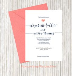 Wedding Invitation Template Yellow  Gray Diy Summer Wedding