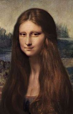 redhead Mona lisa