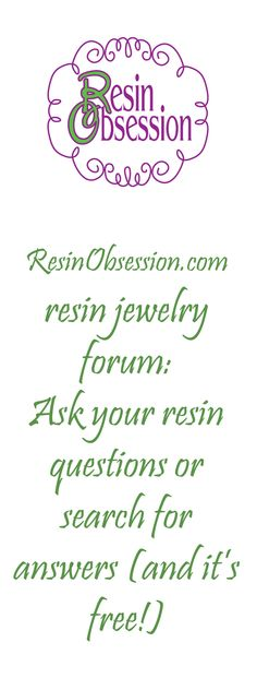 Ask your resin questions or search for answers #resin