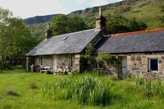 Inninmore cottage. It's along walk to a remote place, but could be good for a bit of wild camping!