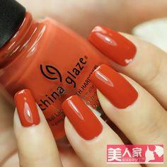 Cg china glaze nail polish oil 80964 life preserver red