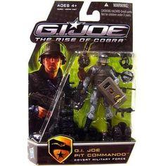 "G I JOE 25TH anniversaire 3.75/"" Commando SNAKE EYES argent Edge cardback 2007"