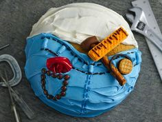 Do-it-Yourself Dad Cake #FathersDay