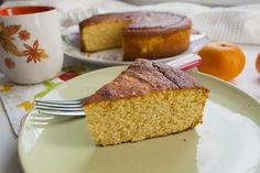 Bizcocho de mandarina (Sin gluten)