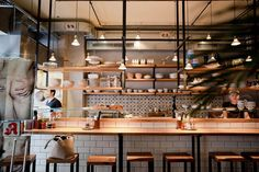 Together with a friend of mine we've tried the recently opened Madame Ngo in Charlottenburg. The restaurant serves a twist of French and Vietnamese kitchen.