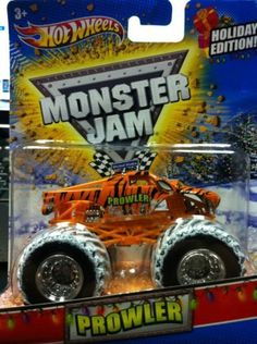 2011 Hot Wheels Monster Jam Holiday Edition PROWLER 1/64 Scale Collectible Truck with Monster Jam TATTOO, http://www.amazon.com/dp/B006N0SMJ2/ref=cm_sw_r_pi_awdm_XLMqtb095B0JA
