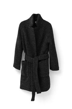 Ganni Fenn Wrap coat. October 2016