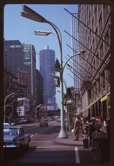 State St. North from Washington - Chicago, Illinois June 1963