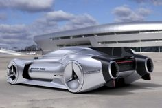 Jet-powered Benz of the Future!