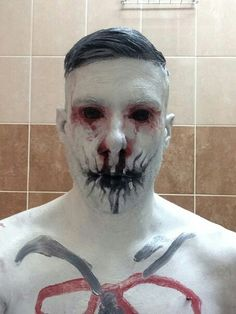 Wes Borland in makeup