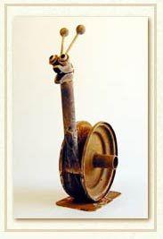 Junkyard Snail -- I LOVE him!