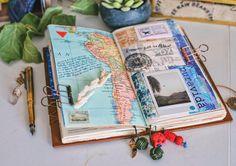 462 Likes, 11 Comments – T w y l a ∘ J e r i c h o (Twyla J. Hall) on Instagra – 2019 - Scrapbook Diy Travel Journal Pages, Bullet Journal Travel, Bullet Journal Inspiration, Junk Journal, Journal Ideas, Scrapbook Journal, Travel Scrapbook, Ideas Scrapbooking, Smash Book