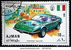 Ajman Stamp 1971 - Maserati