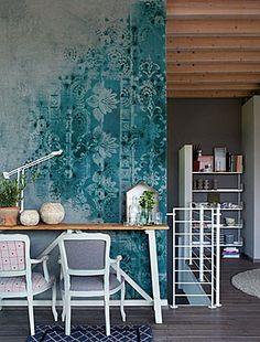 Wall & Decò - Carte da parati per l'arredo contemporaneo. Brush, designer / Giovanni Pesce