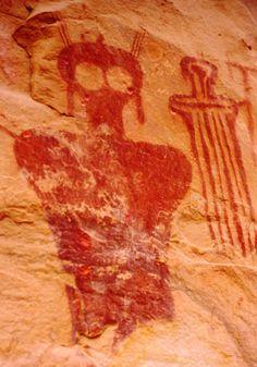 Utah rock art. Petroglyphs ~ More Pins Like This At FOSTERGINGER @ Pinterest