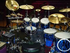 Gavin Harrison Drum Set