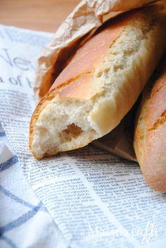 Baguette à l'Italienne http://ilmacinacaffe.blogspot.it/2016/02/baguette-litalienne-e-la-scoperta.html