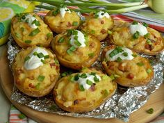 Starters, Baked Potato, Grilling, Salads, Food And Drink, Potatoes, Menu, Baking, Ethnic Recipes