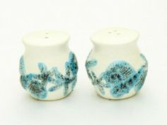 """Ceramic Seashell Shell Design Salt & Pepper Set - Nautical Beach Ocean Decor - White with Blue and Tan Accent - Small At Just 2"""" Tall by Beachcombers International. $9.04. White with Blue and Tan Accent. Small at just 2"""" Tall. Seashell Shell Design Salt & Pepper Set. New. Ceramic. Ceramic Seashell Shell Design Salt & Pepper Set - Nautical Beach Ocean Decor - White with Blue and Tan Accent - Small at just 2"""" Tall.   New"""