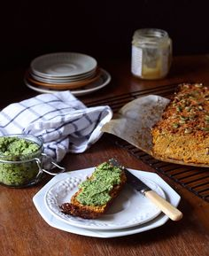 "Savoury veggie loaf (aka paleo ""bread"") 