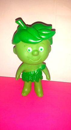 Vintage Little Sprout Little Sprout Rubber Toy by JunkYardBlonde