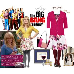 The Big Bang Theory: DR. BERNADETTE ROSTENKOWSKI- WOLOWITZ look